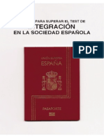 Manual para superar el test de Integración en la sociedad española