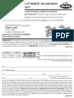 BERKLEY® TRILENE XL/XT REBATE - $8 CASH BACK valid 2/1/15 - 4/15/15