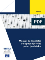 Handbook Data Protection RON