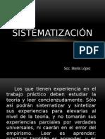 Sistematización presentacion