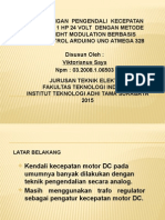 Perancangan Pengendali Kecepatan Motor Dc 1 Hp 24