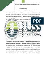 Ensayo La Importancia de La Educacion a Distancia en El Peru