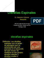 DisrafiasEspinalesNoEspec (2013)(VOL).ppt