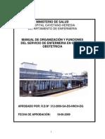 MOF Servicio Enfermeria en Gineco