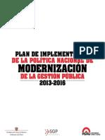 Plan Implementacion