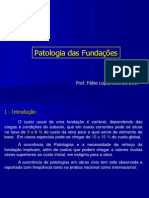 7º Patologia Das Fundações
