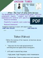 Unit 1 Vacuum Tubes