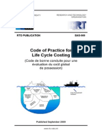 Code of Practice for Life Cycle Costing NATO RTO 2009