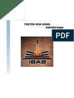 Capa - Testes Dos Dons