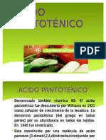 ACIDO PANTOTÉNICO