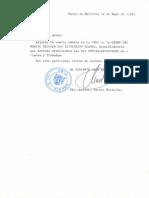 1992_05_14 Carta Del Tte. Montilla Remitiendo Cédula Cruz Del Mérito Militar