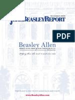 The Jere Beasley Report, Nov. 2009