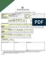 Presupuesto Analitico Sec.2013