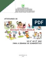 atividade diagnotisco - acailandia