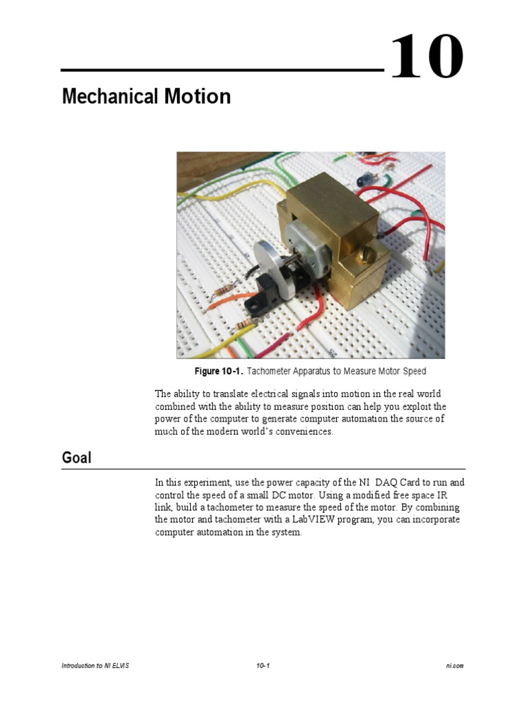 Speed Control Using Tachometer Frequency Automation How To Build Dc Motor Controller