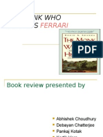 Book Review Presentation{the Monk Who Sold His Ferrari}