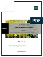 Guia II English for Psychology