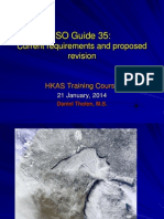 ISO Guide 35 Statistical Procedures for Reference Materials
