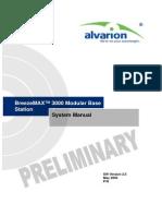 BreezeMAX 3000 BST Ver_2_5 FDD System Manual_060521