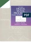 Dsp Book Proakis