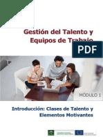 Gestión Del Talento y Equipos de Trabajo Modulo 1