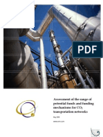 Financing Structures for Natural Gas Pipelines