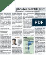 Pro Patient Gibt's Bis Zu 2500 Euro
