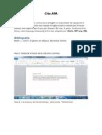 Guia Para Citar Formato APA