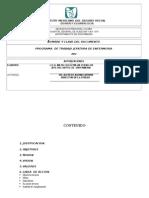 Programa de Trabajo 2012