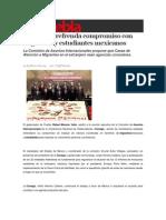 09-02-2015 Sexenio Puebla - La Conago Refrenda Compromiso Con Migrantes y Estudiantes Mexicanos