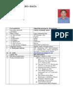 Tapan Kumar Maji CV