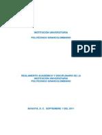 Reglamento Academico y Disciplinario - POLITECNICO GRANCOLOMBIANO