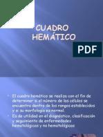 Cuadro Hematico