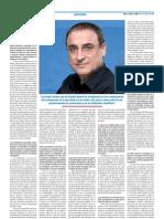 Ramón  Flecha - Entrevista en ESCUELA (2)