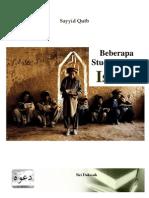 Sayyid Qutb - Beberapa Studi Tentang Islam