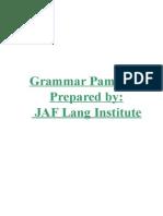 DLI Grammer Pam