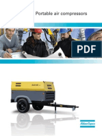 Atlas Copco XAS-185 JD7 Compressor Brochure