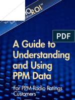 Guide to Using PPM Data