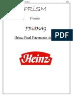 Heinz PRiSMag Finals