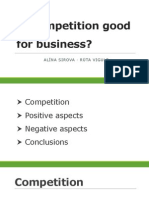Is Competition Good