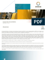 ENEVA Corporate Presentation ? February 2015