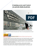 EPF Should Exit Banking Sector and Central Bank Should Leave Private Banks in Private Hands