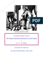 Law and Gospel Study Guide