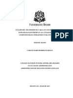 Análisis del estado del transporte en colombia
