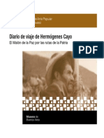 Diario de Viaje Hermogenes Cayo 2012