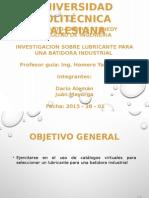 Aceite Para Batidora Industrial