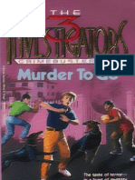The Three Investigators Crime Busters #2 Murder to Go