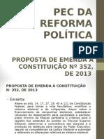 PEC 352-2013 - Apresentacao Esperidiao Amin