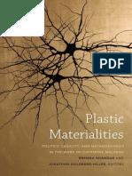 Plastic Materialities edited by Brenna Bhandar and Jonathan Goldberg-Hiller
