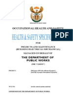 Health Safety Specification Generic (Repaired)